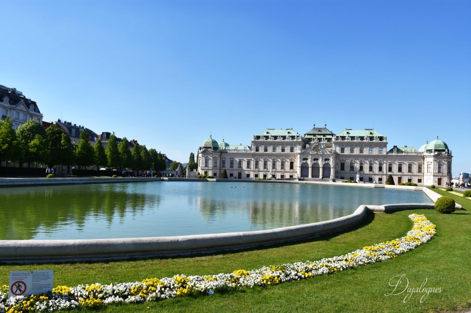 Belvedere Palace and grounds